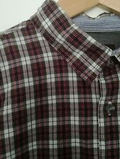 Men's Zara Red checked shirt size Large