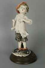 Giuseppe Armani Figurine Boy Singing Mint WorldWide