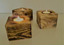 Teelichthalter Windlicht Kerzenhalter Kerzen Palettenholz HOLZ Unikat