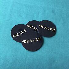 Set Of Four (4) Acrylic Dealer Button Chip Puck 2.25�
