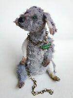 Teddy  dog Basya OOAK Artist Teddy by Voitenko Svitlana.
