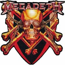 MEGADETH - KILLING IS MY BUSINESS - EMBROIDERED PATCH - BRAND NEW - 4247