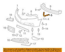 Acura HONDA OEM 09-14 TL Front Bumper-Retainer Bracket Right 71193TK4A00