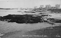 POSTCARD  WALES  TREARDDUR BAY - GENERAL VIEW - RP