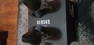 womens versus versace shoes size 6 excellent condition, worn once, black