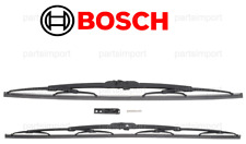 Set of 2 Wiper Blades L+R BOSCH for JAGUAR Super V8 Vanden Plas XJ8 XJR