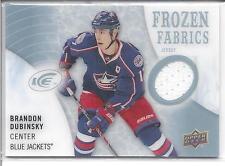 BRANDON DUBINSKY 2014-15 Upper Deck Ice FROZEN FABRICS Jersey Card #F2F-BD