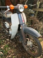 Honda C50 moped/scooter Shed/Barn find spares or repair needs tlc