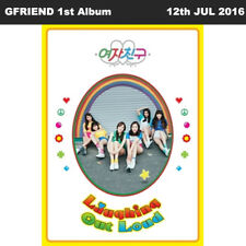GFRIEND LOL 1st Album LAUGHING OUT LOUD Ver CD+124p Photobook+Card++Paper Doll