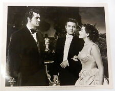 ROCK HUDSON & YVONNE DeCARLO Movie Film 8 x 10 PHOTO Scarlet ANGEL 1952 ak156