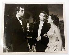 ROCK HUDSON & YVONNE DeCARLO Movie Film 8 x 10 PHOTO Scarlet ANGEL 1952 ak156