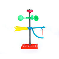 Educational Early Learning Mini Wind Vane Toys Science Wind Power Model Gifts 3C