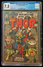 1965 Marvel Journey Into Mystery #123 CGC 7.5 Off White to White Pages