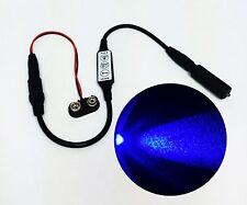 Micro Effects Blue LED Light & Control Strobe Flash 9 - 12 Volt DC MEL-PB-D-9VB