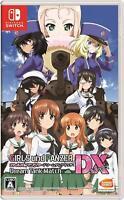 Nintendo Switch Girls & Panzer Dream Tank Match DX Japan F/S