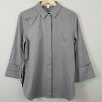 [ COUNTRY ROAD ] Womens Fine Houndtooth Shirt Top | Size AU 10 or US 6