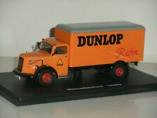 1:43 Schuco 03021 Mercedes-Benz L6600 - Dunlop Reifen