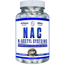 HI TECH N-ACETYL-L-CYSTEINE (NAC) 600 mg Capsules nonGMO USP Grade USA 🇺🇸