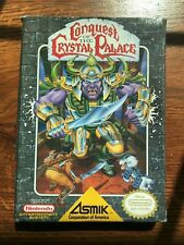 Conquest of the Crystal Palace NES Nintendo Empty Box Only