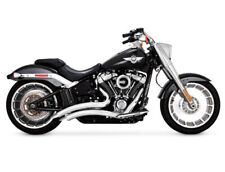 Vance & Hines Big Radius Chrome Exhaust 2018 18' Harley Softail Fatboy Breakout