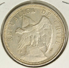 Chile 1927 Silver 5 Pesos ASW: 0.7234oz 579G