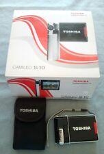 Cámara de vídeo digital Toshiba.