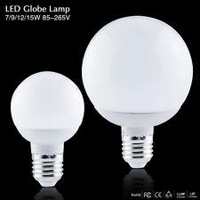 E27 Led Lamps Ball Bulb Globe 85-265V 7/9/12/15W 5730 SMD Spot Light 360 Degree