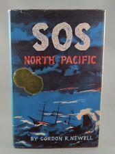 SOS NORTH PACIFIC Shipwrecks (1955) 1st Ed - by Gordon R. Newell (VG+/VG) hc/dj
