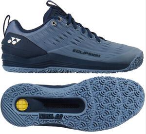 Yonex Power Cushion Eclipsion 3 Men's Tennis Shoes Mist Blue Clay SHT-E3MGCEX