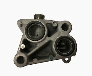 OEM GM 12555007 Oil Filter Adapter Housing Without Oil Cooler Cadillac 4.6L 4.0L