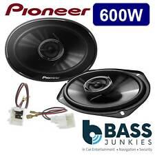 Nissan Navara D40 04-15 Pioneer 800 Watts 2 Way 6x9 Front Door Car Speakers Kit
