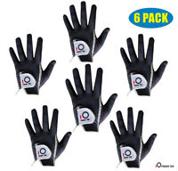 Mens Golf Gloves Lot 6 Pack ReliefGrip Hot Wet Rain Weather Left Right Hand