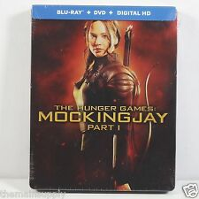 The Hunger Games: Mockingjay Part I (1) Blu-ray Disc Steelbook