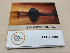 Lee Filters 100mm System Lens Adaptor Ring 77mm Wide Angle