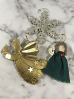 Set of 3 Christmas Ornaments Holiday Home Tree Decorations