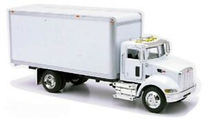 New  Ray 1/43 Peterbilt 335 Box Delivery Truck (Die Cast)  NRY15803