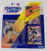 1992 Starting Lineup Scott Erickson Minnesota Twins Action Figure Card & Poster