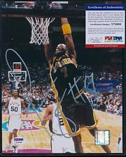 JERMAINE O'NEAL PSA/DNA 8X10 CERTIFIED AUTO AUTHENTIC - INDIANA PACERS - A50