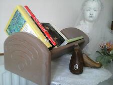 Genuine VINTAGE Libro Soporte de Madera de Roble Sólido/Rack ~ ~ ~ Annie Sloan Decoración Diseño De Interiores