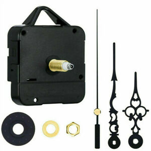 Replacement Quartz Clock Mechanism, Multiple Movement & Hands, DIY Repair Kit UK