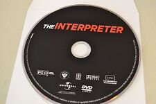 The Interpreter (DVD, 2005, Widescreen)Disc Only Free Shipping
