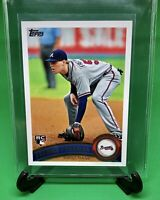 2011 FREDDIE FREEMAN Topps RC Rookie Card # 145 Atlanta Braves MLB Baseball