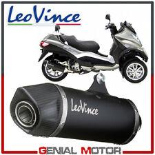 Leovince Pot D'Echappement Noir A Piaggio Mp3 500/Business/Lt/Sport 2011 > 2016
