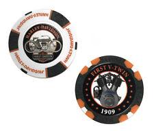 Harley-Davidson Limited Edition Series 2 Poker Chips Pack Black & White 6702d