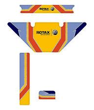 Fa Alonso Estilo Europeo Rotax Micro Max Radiador Kit De Etiquetas-Karting