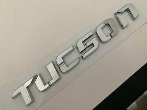 Nameplate Fit Hyundai TUCSON Rear Trunk Emblem Letters Badge 10 11 12 13 14-17