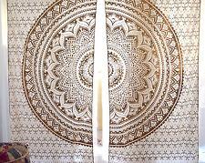Indian Decor Window Panel Drape Curtains Throw Door Cover Wall Art Valance Hippy