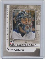 2010-11 IN THE GAME BETWEEN THE PIPES CURTIS JOSEPH ITG BTP GREATS OF THE GAME