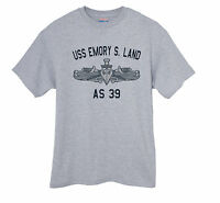 US USN Navy USS Emory S. Land AS-39 Submarine Tender T-Shirt