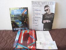 Paul Weller Sonik Kicks Deluxe Edition Japan CD + DVD Jam MOD w Ticket Flyers